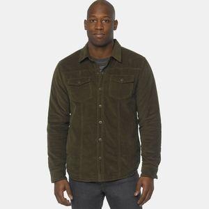PrAna 'Gomez' Corduroy Sherpa Fleece Shirt Jacket